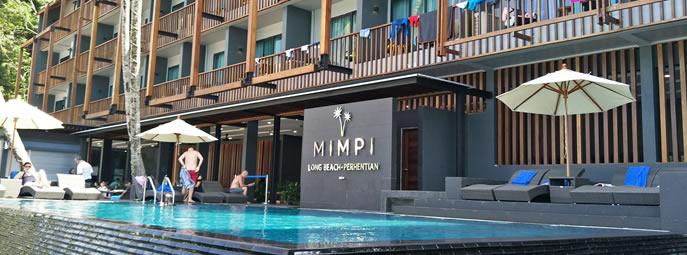design intemporel d5446 62e47 Mimpi resort, Perhentian Kecil